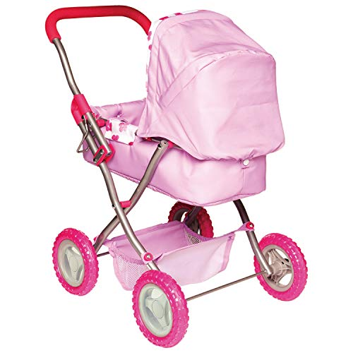 Manhattan Toy 156350 Stella Collection Buggy voor poppen, 30,48 cm en 38,1 cm poppen, Multi