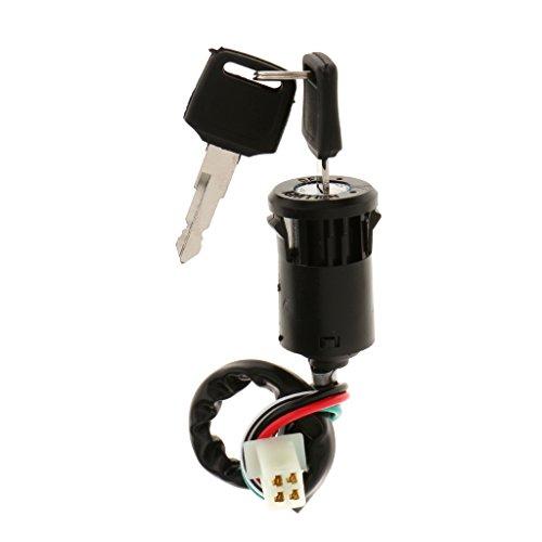 Interruptor De Arranque De Bloqueo De Encendido De La Moto De La Motocicleta ATV Clave Moto Quad