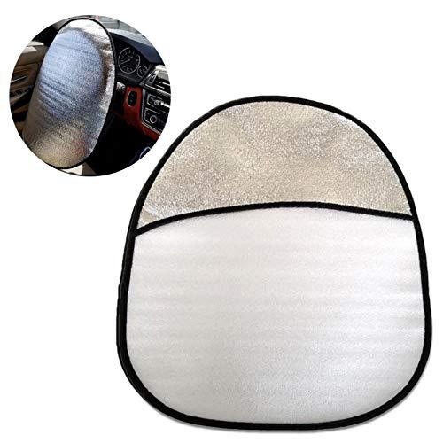 WANGQ Funda para volante parasol para coche, de algodón perlado, protección solar...