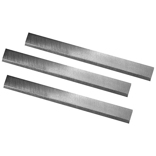"""POWERTEC 14802 6-1/8"""" HSS Jointer Knives Replacement for Craftsman 21705 922995, Ridgid AC8600 JE080008 JP0610 - Set of 3"""