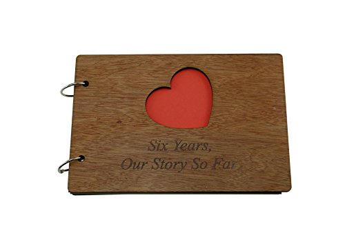 6 Years Our Story So Far - Scrapbook, Photo album or Notebook Idea For 6th Anniversary
