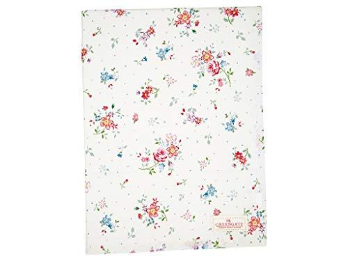 Greengate COTTAB170NBLL0102 Belle Tischdecke White 130 x 170 cm (1 Stück)
