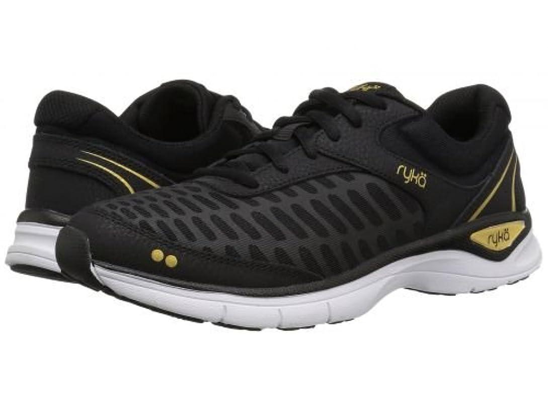 こだわりソート唇Ryka(ライカ) レディース 女性用 シューズ 靴 スニーカー 運動靴 Rae - Black/Platinum 10 B - Medium [並行輸入品]