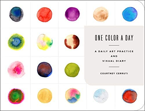 One Color a Day Sketchbook A Daily Art Practice and Visual Diary product image