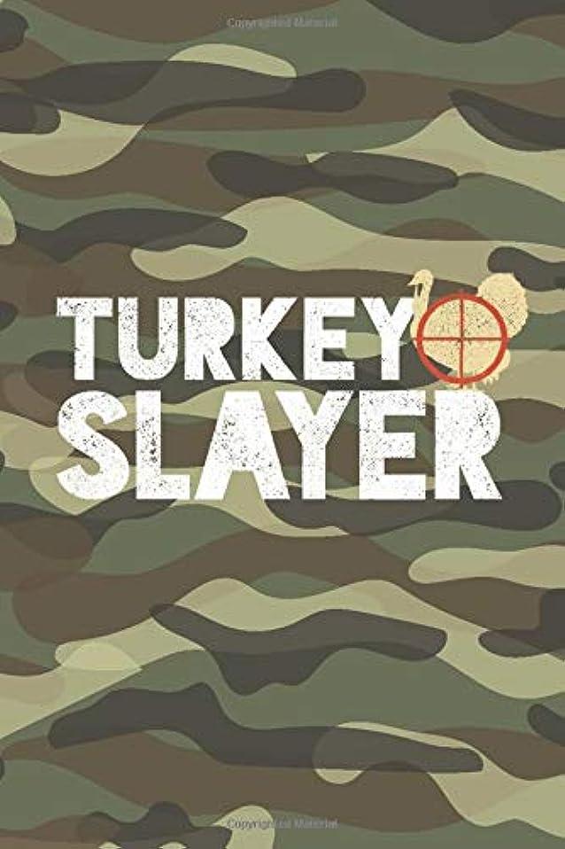 """振動させるコミットメント人気のTurkey Slayer: Turkey Hunting Log Book – Hunting Journal – Notebook for Turkey Hunter – Hunting Diary - 15.2cm x 22.9cm (6"""" x 9"""") - 100 Pages – Record your hunts"""