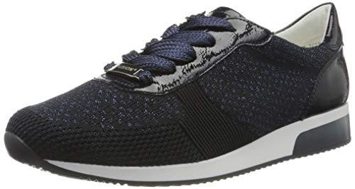 ara Damen LISSABON Sneaker, Blau-Metallic, Navy 06), 36 EU (3 UK)