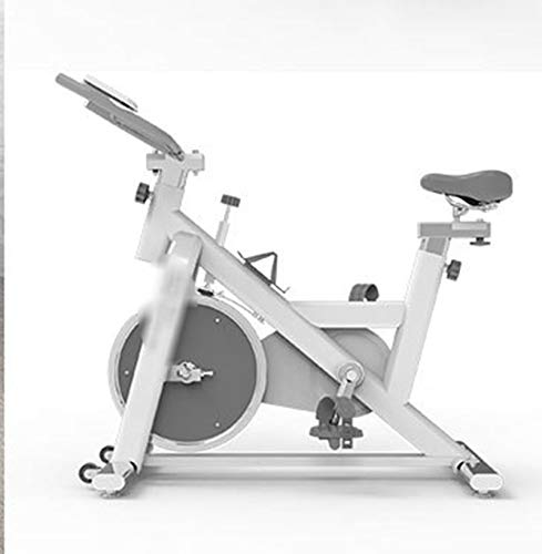 CCZUIML Indoor Cycling Exercise Bike, Super Mute Spinning Bike with Heart Rate Monitor