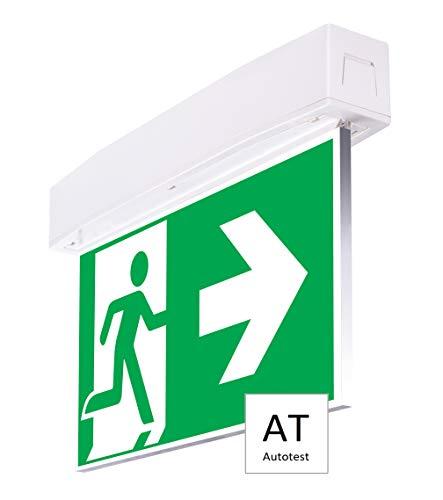 Notleuchte LED Autotest IP54 Notbeleuchtung Rettungszeichenleuchte Fluchtwegleuchte Notlicht Rettungszeichen
