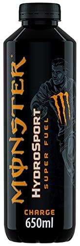Monster, Charge HydroSport Energy Drink, Gusto Arancia e Ananas, 650ml con 200 mg di Caffeina Naturale, BCAA