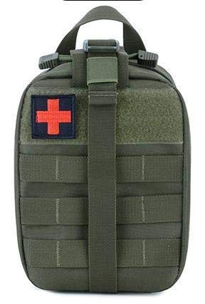 Small Tactical Bag Medical Emergency EMT Bag Rip Away EMT First Aid Kit Survival Gear Bag Military First Aid Back Pack for Outdoor Travel/Hiking