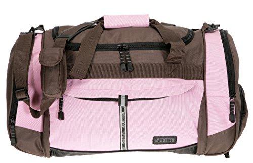 Sporttasche @Venture Fitness Tasche Sport Tasche PINK/BRAUN