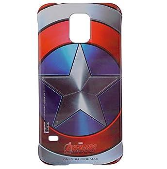 Samsung Mobile Cover Case for Galaxy S5- Captain America