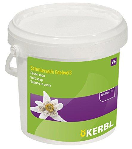 Kerbl 151175 Schmierseife, Edelweiß, 1000 ml