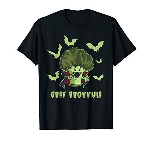 Graf Brokkula - Brokkoli Vampir will deinen grünen Saft T-Shirt