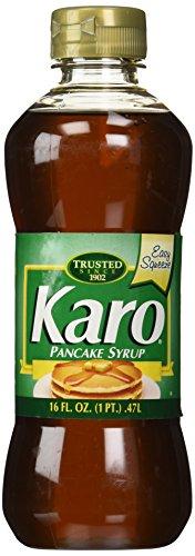 Karo Pancake Syrup, 16-Ounce (Pack of 4)