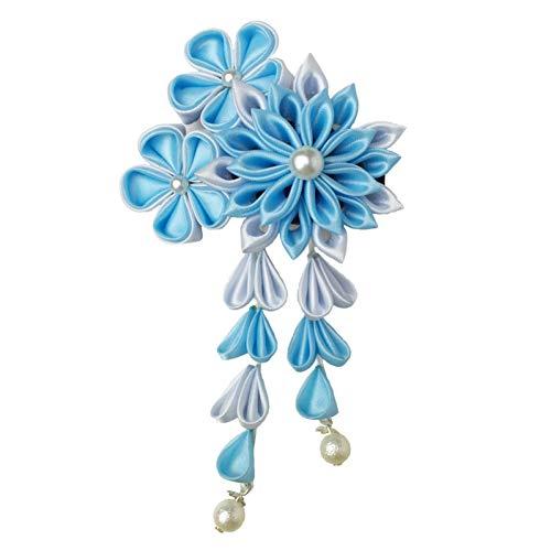 JINGMO Bleu Antique Gland Coiffure Kimono Petite Épingle À Cheveux Ornement Antique Et Vent Kawaii Fille Cheveux Accessoires
