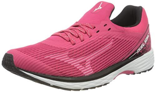 Mizuno Duel Sonic, Zapatillas de Running para Mujer, Rosa (Azalea/Black 60), 40 EU
