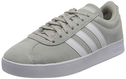 adidas Damen VL Court 2.0 Running Shoe, GRETWO/FTWWHT/DOVGRY, 38 EU