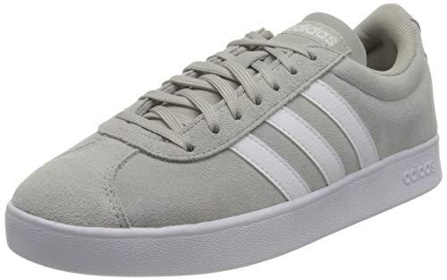 adidas VL Court 2.0, Zapatillas de Deporte Mujer, Gridos/FTWBLA/GRIPAL, 40 EU