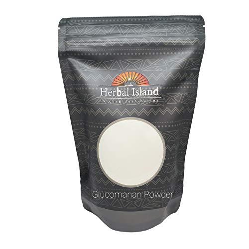 Glucomannan Konjac Powder 1 LB or 16 OZ (100% Pure & Natural Weight Loss) & Free Shipping