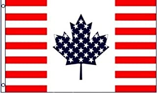 3'x5' Canada - US Friendship Flag, United States of America Canadian banner usa