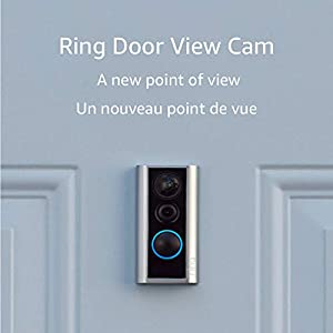 Ring Door View Cam – A compact video doorbell designed to replace your peephole with smart security