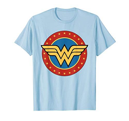 DC Comics Wonder Woman Circle Logo Camiseta