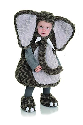 UNDERWRAPS girls Elephant Baby Belly infant and toddler costumes, Gray, 18 Months 2T US