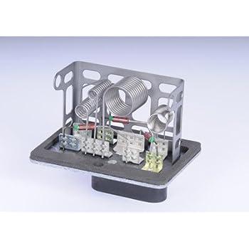 HVAC Blower Motor Resistor Rear Standard RU-344