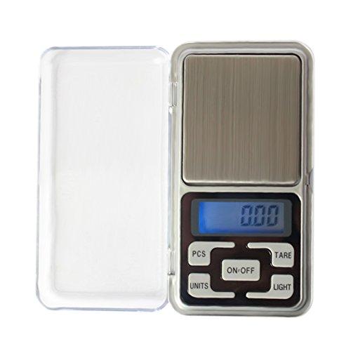 Vktech® 200g x 0.01g Balance de Poche numérique Haute précision pour Laboratoire Pharmacie Or bijoutier