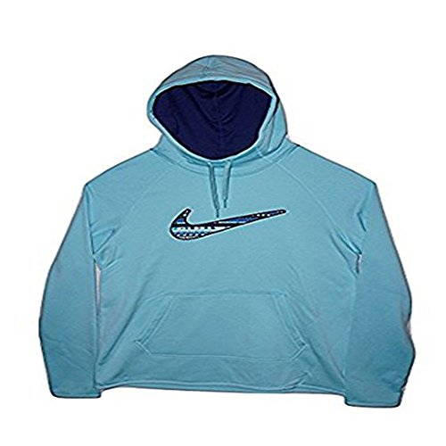 Nike Women's All Time Therma 8bit Swoosh Training Hoodie Small