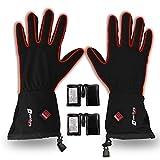 Venture Heat Heated Gloves for Men Women - Battery Powered Glove Liner, Hand Warmer Cycling Ski Snow Winter, Avert 2.0 (XXL)
