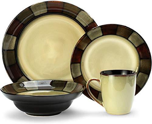 Pfaltzgraff Taos 16-Piece Stoneware Dinnerware Set, Service for 4
