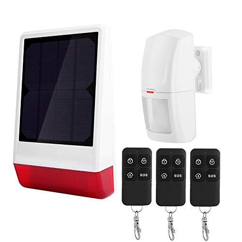 Alarma de seguridad Sistema de alarma de alta sensibilidad para casas residenciales, villas, fincas residenciales