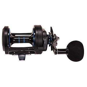 Daiwa SALTIST50P Saltist Star Drag Saltwater Casting Reel 50 5.1  Gear Ratio 25.80  Retrieve Rate 22 lb Max Drag Right Hand Black