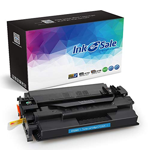 INK E-SALE Compatible Toner Cartridge Replacement for HP 26X CF226X 26A CF226A (Black, 1-Pack), for use with HP Laserjet Pro M402d M402n M402dn M402dw, MFP M426dw M426fdw M426fdn 9000 Pages