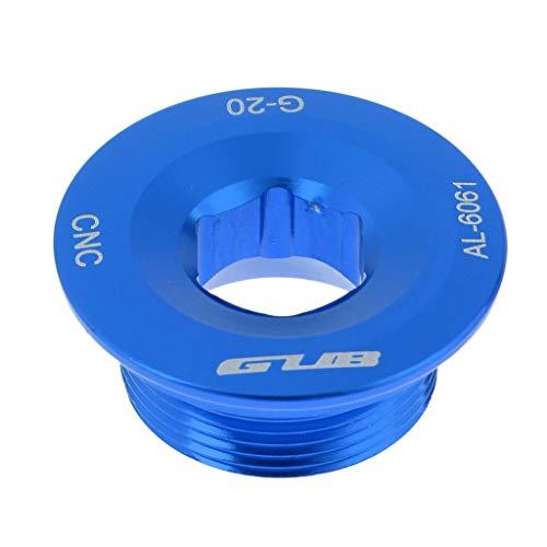Hellery Soporte de Brazo de Manivela de Aluminio Duradero para Juego de Bielas 590596 XT - Azul