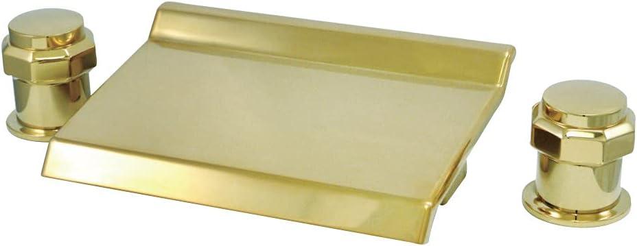 Max 56% OFF Kingston Brass KS2242AR Milano Waterfall Faucet Al sold out. Roman Tub Filler
