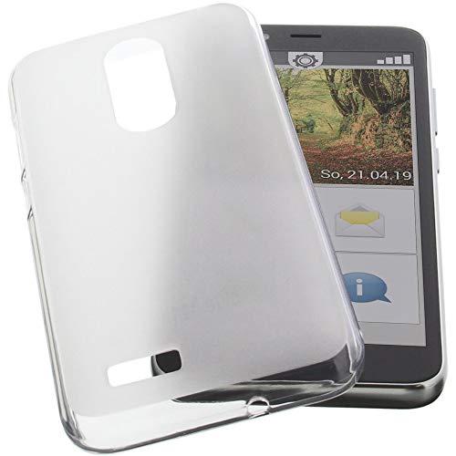 foto-kontor Hülle für Emporia Smart 3 Mini Tasche Gummi TPU Schutz Handytasche transparent