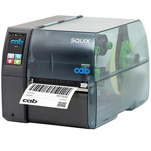 Cab SQUIX 6.3 Drucker mit Abreißkante - 300 dpi - Thermodirekt, Thermotransfer - 162,6 mm max. Druckbreite, LAN, seriell, USB Schnittstellen