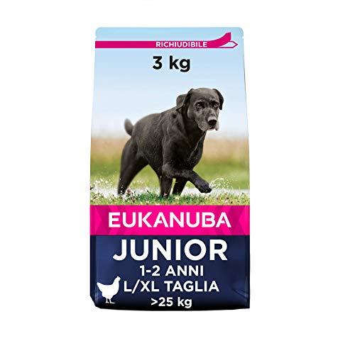 euka NUBA Junior crocchette per Cani di Taglia Grande con Pollo Fresca