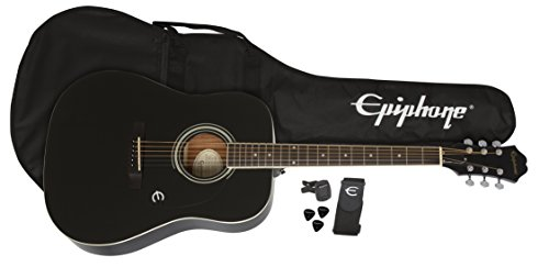 Epiphone FT-100 Acoustic Guitar Player Pack (Gigbag,...