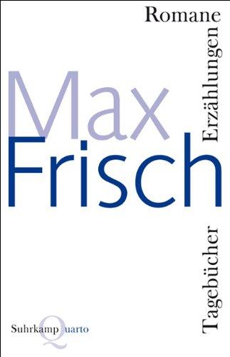Romane, Erzählungen, Tagebücher: Mit einem Nachwort von Volker Hage (Suhrkamp Quarto)