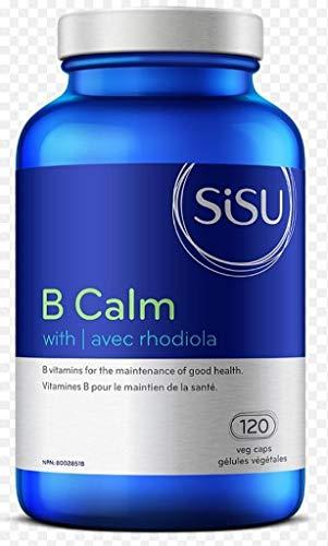 Sisu B Calm with Rhodiola, 120 Capsules