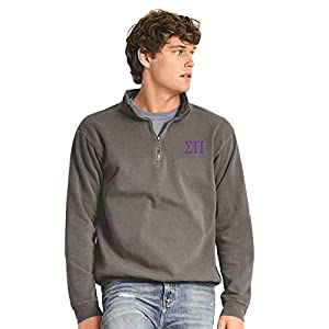 Men's Comfort Colors Garment-Dyed Quarter-Zip Sweatshirt