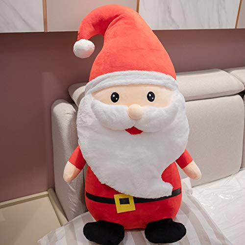 Cute Christmas Santa Claus Snowman Elk Doll Plush Toy, Christmas Tree Hanging Ornament Decoration for Home Xmas Party New Year Gifts (Santa Claus,19.7 inch)
