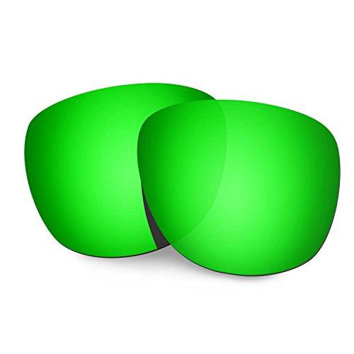 HKUCO Reforzarse Lentes de repuesto para Oakley Trillbe X Gafas de sol Verde Polarizado