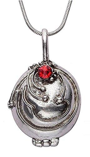 DP Design® - Collar con colgante inspirado en el amuleto de Elena (Nina Dobrev) de la serie Crónicas vampíricas