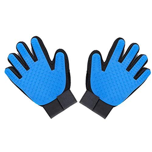 LXYU Ontharingshandschoenen, voor huisdieren, katten, haarreiniger, kam, kammen en handschoenen om te kammen