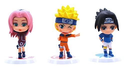 Anime Domain Set de Figuras en Forma de Personajes de Naruto 2